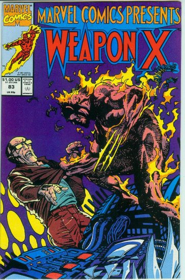 Marvel Comics Presents Weapon X #83 (1991)