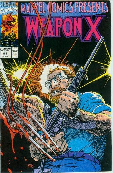 Marvel Comics Presents Weapon X #81 (1991)