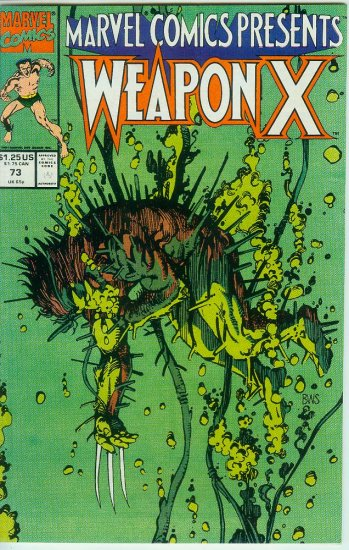 Marvel Comics Presents Weapon X #73 (1991)