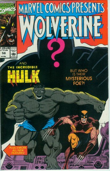 Marvel Comics Presents Wolverine #58 (1990)