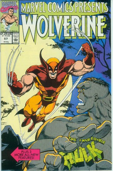 Marvel Comics Presents Wolverine #57 (1990)
