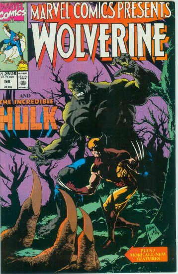 Marvel Comics Presents Wolverine #56 (1990)