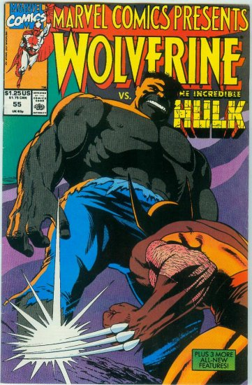 Marvel Comics Presents Wolverine #55 (1990)