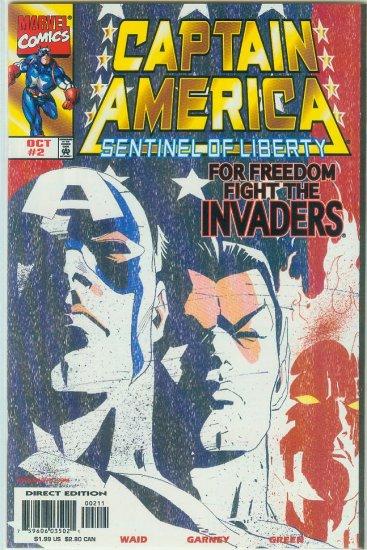 Captain America Sentinel Of Liberty #2 (1998)