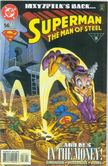 Man Of Steel #56 (1996)