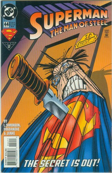 Man Of Steel #44 (1995)