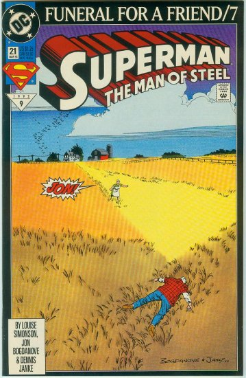 Man Of Steel #21 (1993)