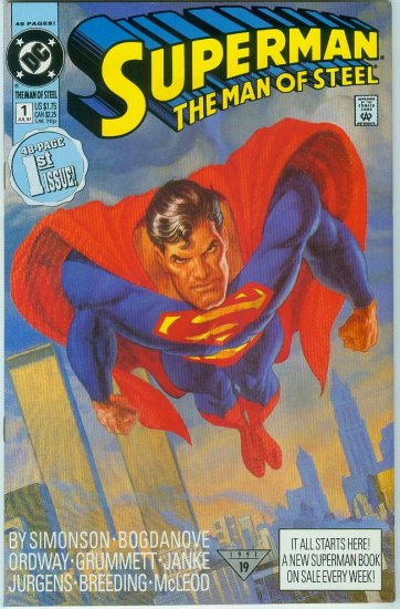 Man Of Steel #1 (1991)