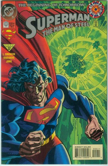 Man Of Steel #0 (1994)