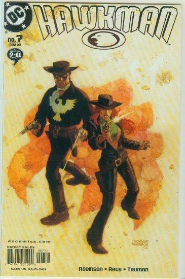 Hawkman #7 (2002)