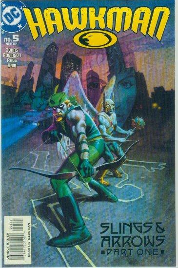 Hawkman #5 (2002)
