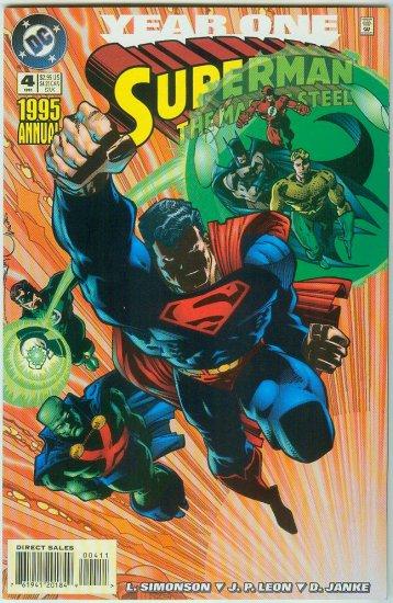 Man Of Steel Annual #4 (1995)