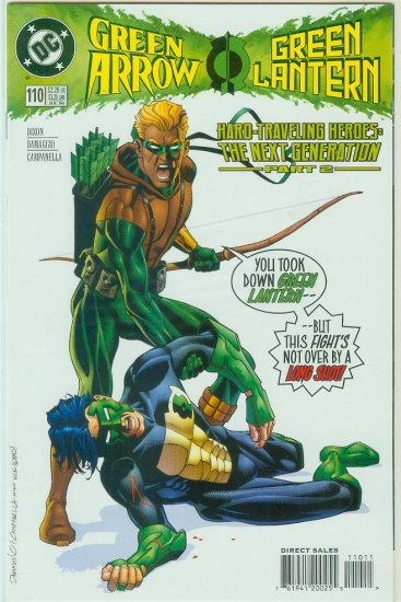 Green Arrow #110 (1996)