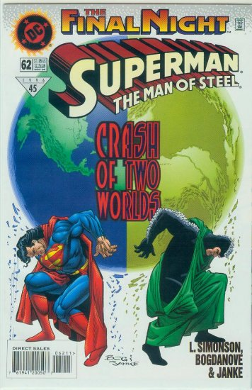 Man Of Steel #62 (1996)