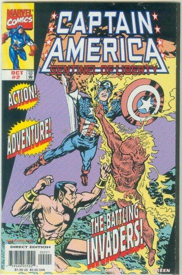 Captain America Sentinel Of Liberty #2 Variant (1998)