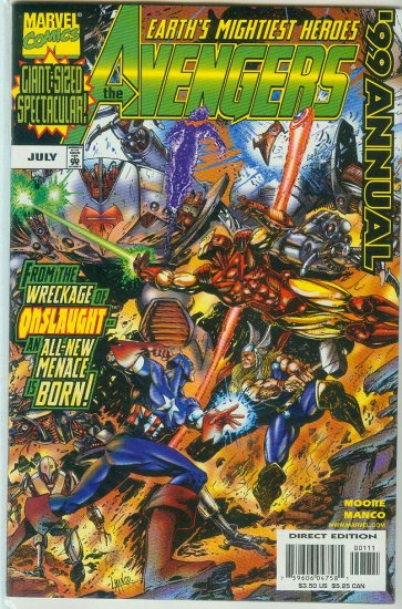 AVENGERS ANNUAL 99 (1999)