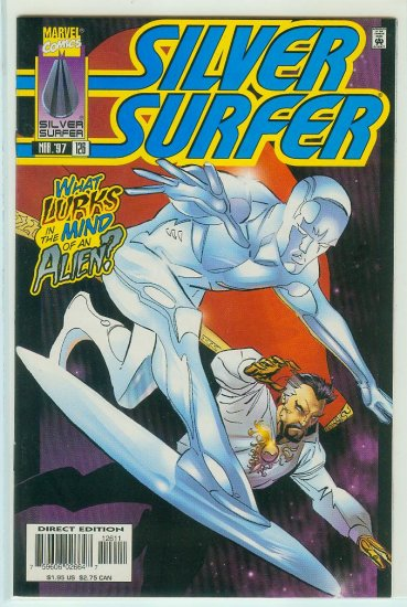 MARVEL COMICS SILVER SURFER #126 (1997)