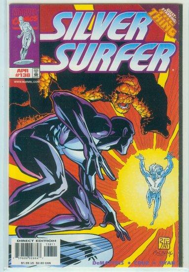 MARVEL COMICS SILVER SURFER #138 (1998)