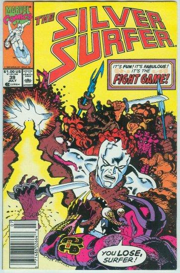 MARVEL COMICS SILVER SURFER #39 (1990)