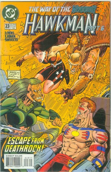 Hawkman #23 (1995)