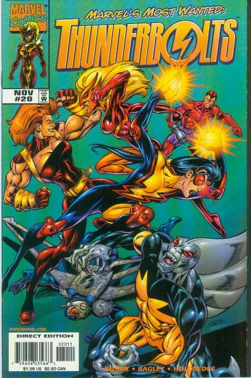 THUNDERBOLTS #20 (1998)