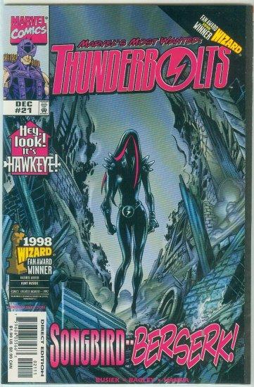 THUNDERBOLTS #21 (1998)