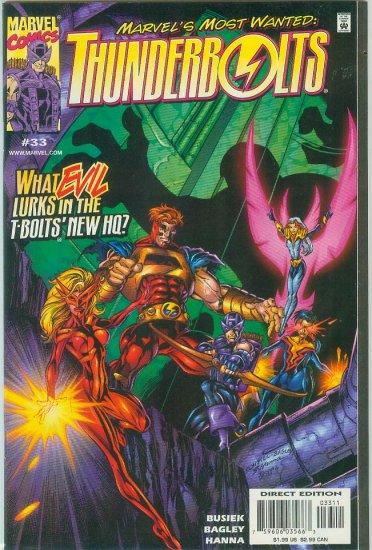 THUNDERBOLTS #33 (1999)