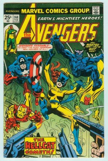 AVENGERS #144 (1976) Bronze Age