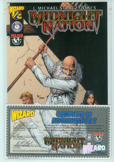 Midnight Nation #1/2 Wizard/Top Cow (2001)