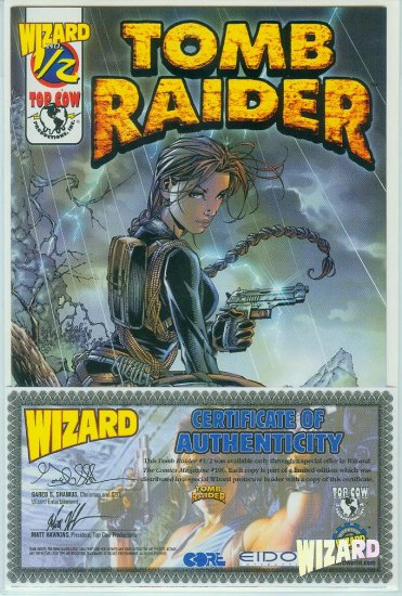 Tomb Raider #1/2 Wizard/Top Cow (2000)