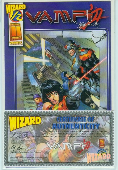 Vampi #1/2 Wizard/Harris (2000)