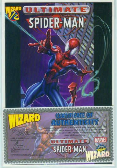 Ultimate Spider-Man #1/2 Wizard/Marvel (2002)