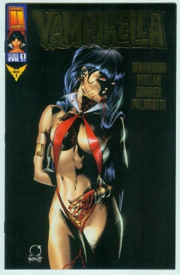 Vampirella #1 Ascending Evil Gold Foil Cover (1997)