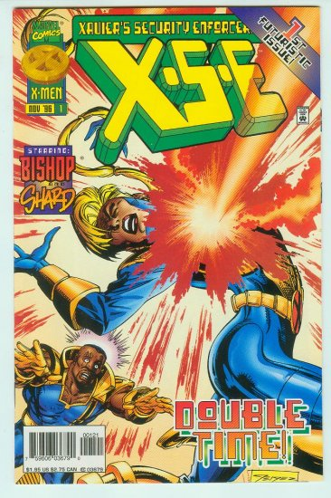 X-S-E #1 Xaviers Security Enforcers (1996) Variant Cover