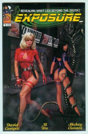 Image Comics Exposure #1 (1999) Variant Photo Cover