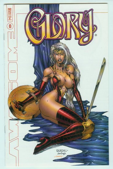 Awesome Comics Glory #0C  (1999) Variant Cover