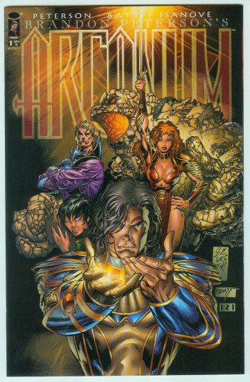 Image Comics Arcanum #1A (1997) Variant Cover