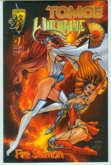 Tomoe/Witchblade Fire Sermon #1 (1996)