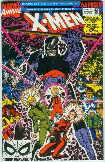 UNCANNY X-MEN ANNUAL #14 (1990)