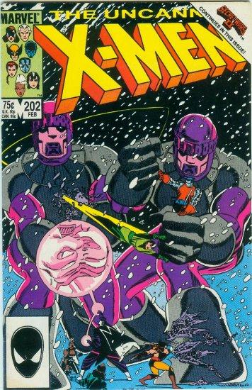 UNCANNY X-MEN #202 (1986)