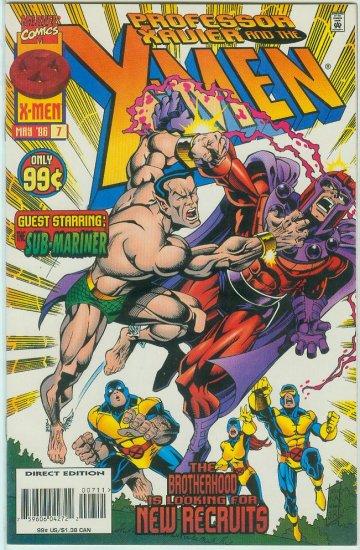 Professor Xavier And The X-Men #7 (1996)
