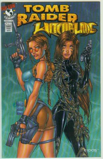 Tomb Raider/Witchblade Special (1997) mail in offer 1 shot