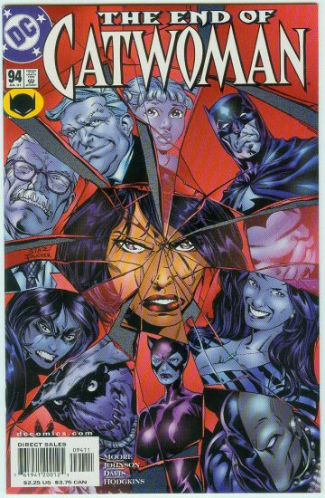 CATWOMAN #94 (2001) FINAL ISSUE