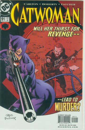 CATWOMAN #91 (2001)