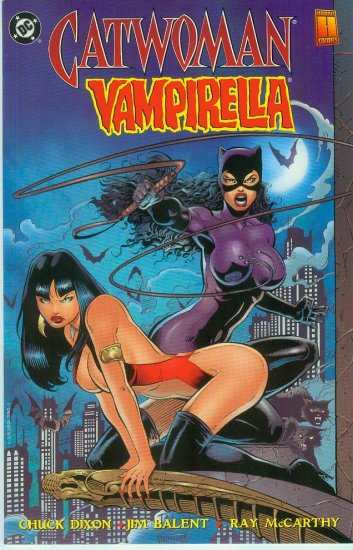 CATWOMAN/VAMPIRELLA  THE FURIES 1 SHOT (1994)
