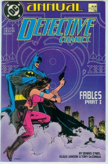 DETECTIVE COMICS ANNUAL #1 (1988)