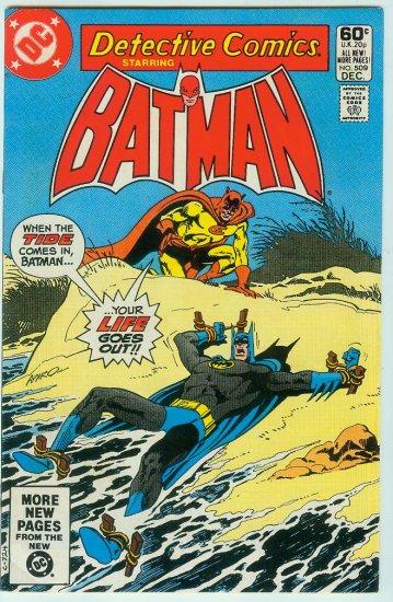 DETECTIVE COMICS #509 (1981)