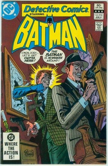 DETECTIVE COMICS #516 (1982)