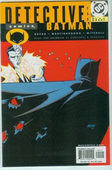 DETECTIVE COMICS #755 (2001)