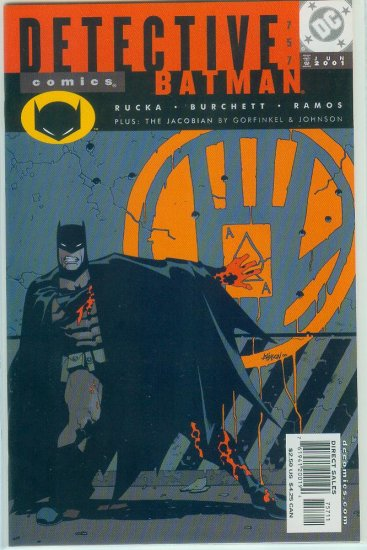 DETECTIVE COMICS #757 (2001)